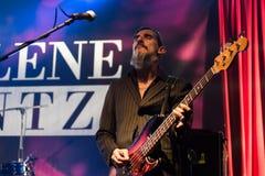 Марлен Kuntz в реальном маштабе времени на клубе Бергаме 18-01-2017 музыки Druso Стоковое Изображение