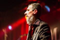 Марлен Kuntz в реальном маштабе времени на клубе Бергаме 18-01-2017 музыки Druso Стоковые Фото