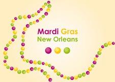 Марди Гра - замаскированная масленица в Новом Орлеане Стоковое Изображение