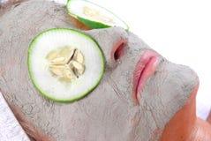маска глины красотки Стоковое Изображение
