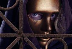 маска золота Стоковая Фотография