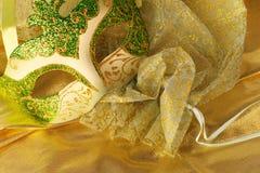 маска золота Стоковая Фотография RF