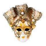Маска золота венецианская Стоковое Изображение RF
