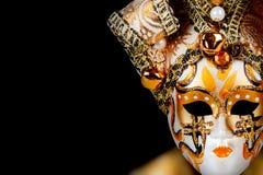 Маска золота венецианская Стоковая Фотография RF