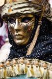 маска золота venetian Стоковая Фотография RF
