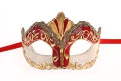 маска изолированная масленицей venetian Стоковая Фотография