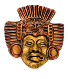 маска индейца культа Стоковое Изображение
