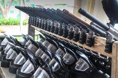 Маска и оружие Стоковые Фото