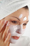 маска красотки стоковая фотография rf