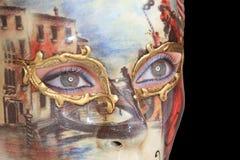 маска масленицы Стоковое фото RF