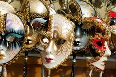 Маска масленицы, Венеция Стоковое Фото