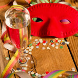 маска масленицы серая изолированная стоковые фотографии rf