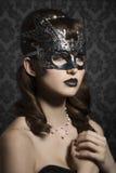 маска масленицы серая изолированная стоковые фото