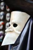 маска масленицы серая изолированная Стоковое Изображение