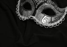 маска масленицы серая изолированная стоковая фотография rf