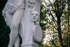 Маска мраморной статуи Стоковые Фото