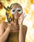 маска пера Стоковое Изображение RF
