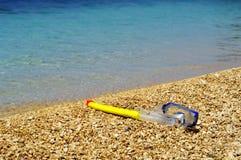 маска пляжа Стоковые Фотографии RF