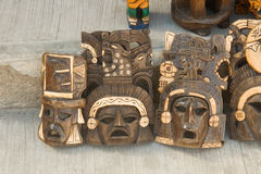 Маска - подарок мексиканца традиции Стоковая Фотография