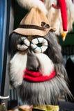 Маска рождества зимних отдыхов традиционная, masque от Румынии Стоковые Фотографии RF