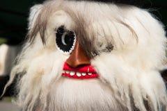 Маска рождества зимних отдыхов традиционная, masque от Румынии Стоковая Фотография
