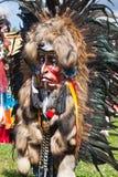 Маска североамериканских индейцев Стоковое Изображение