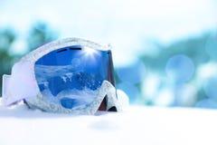 Маска сноуборда Стоковые Изображения
