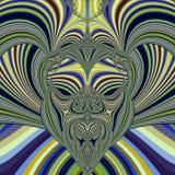 маска соплеменная Стоковая Фотография