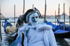маска традиционный venice масленицы Стоковые Фото