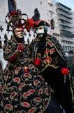 маска традиционный venice масленицы Стоковая Фотография