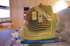 Маска лучевой терапии стоковое изображение