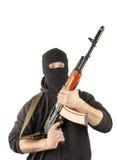 маска человека пушки стоковые фотографии rf