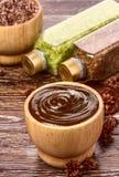 Маска шоколада стоковые изображения