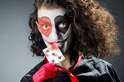 маска шутника стороны Стоковая Фотография