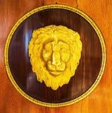 Маска льва в дворце Stroganovyh в Санкт-Петербурге Стоковое Изображение