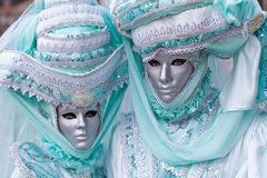 Маска Carneval в Венеции - венецианском костюме Стоковое Изображение RF
