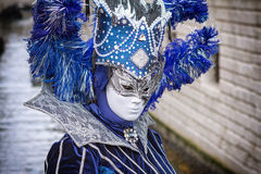 Маска Carneval в Венеции - венецианском костюме Стоковое фото RF