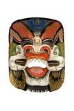 маска dayak деревянная Стоковая Фотография RF