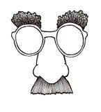 маска disguise иллюстрация вектора