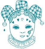 маска harlequin Стоковая Фотография