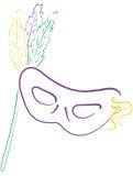 маска mardi 3 gras Стоковое Фото