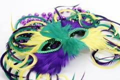 маска mardi gras пера шариков стоковые фотографии rf