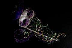 маска mardi gras Стоковое Изображение