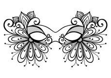 Маска Masquerade иллюстрация штока