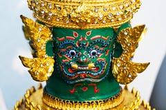 Маска Tos-Sa-Kan Hua Khon тайская традиционная Стоковая Фотография RF