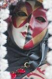 маска venice масленицы Стоковое Изображение