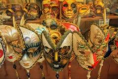 маска venice масленицы Италия Стоковое Изображение