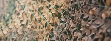 Маскировочная сетка, картина камуфлирования армии Воинская маскировочная сетка Стоковые Фотографии RF
