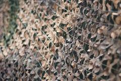 Маскировочная сетка, картина камуфлирования армии Воинская маскировочная сетка Стоковое Изображение RF