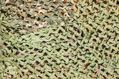 Маскировочная сетка для маскировать зеленого цвета Стоковые Фотографии RF